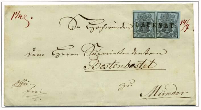 Briefe Gewicht : Schaumburger postgeschichte